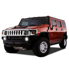 Flashtech Hummer Halo Fog Light Ring White Led Kit for Hummer H2 2003 - 2009