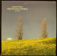 GEORGE WINSTON winter into spring LP VG+ WH 1019 1/2 Speed Audiophile Vinyl
