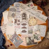 32PCS Vintage English Paper Sticker Music Note Scrapbooking Journal Album DIY