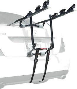 Allen Sports Deluxe 3-Bicycle Trunk Mounted Bike Rack Carrier, 103DN Black