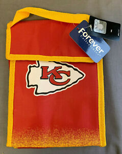 Kansas City Chiefs NFL Gradient Print & Logo Insulated Lunch Bag