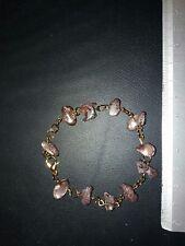 bracciale decina rosario in pietre realizzato interamente a mano.