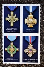 2016USA #5065-5068 Forever Service Cross Medals - Honoring Heroism  Mint Block 4