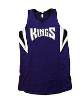 Nba Adidas Sacramento Kings Basketball Jersey Blank (Flaw Cut Out) See Pix