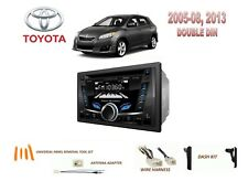 2005-2008, 2013 TOYOTA MATRIX CAR STEREO KIT, BLUETOOTH USB CD AUX MP3