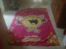 Single Bed Doona Quilt Cover Bright Colours  Childrens Little Miss Sunshine