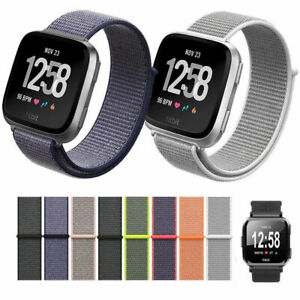 For Fitbit Versa 2 Replacement Nylon Fabric Durable Soft SmartWatch Band Strap