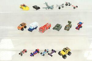 Vintage Micro Machines Car Bundle Military Sprint Racer Plane Tank 4x4 Monster