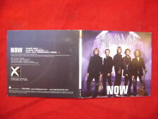 DEF LEPPARD ~ NOW (2 VERSIONS) + CALL OUT RESEARCH HOOK  2002 US PROMO CD SINGLE