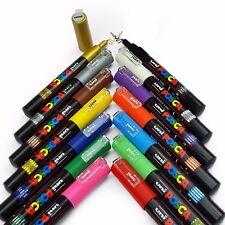 Uni Posca Pintura Marcador Bolígrafos Arte PC-1M Profesional 14 Pen Set