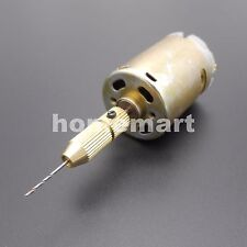 12V PCB drilling dedicated special small electric drill power & 0.8mm drill bit
