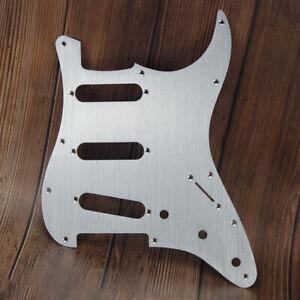 NEW Anodized Aluminum SSS Guitar Pickguard Scratch Plate for FD Strat Guitar