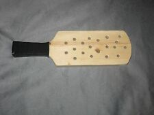 Wood Paddle Spanking punishment with holes bdsm bondage kinky fetish