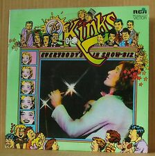 2LP The Kinks Everybody's in Show-Biz + insert RCA UK 1972 Top Zustand