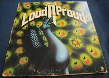 Pete Agnew Nazareth Loud 'n' Proud Hard rock Auto LP Vinyl © 1973 w/COA