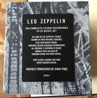 Led Zeppelin Complete Studio Recordings ( CD Sep-1993, 10 Discs) Box set NEW