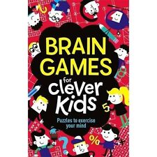 Brain Games For Clever Kids Age 8 - 12 Puzzles Sudoku Memory Words Numbers Gift