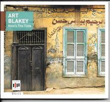CD Art Blakey 'Now's the time' NEUF/NEW/NEUF dans sa boîte the jazz Messageries