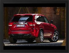 """JEEP GRAND CHEROKEE BACK VIEW A3 FRAMED PHOTOGRAPHIC PRINT 15.7"""" x 11.8"""""""