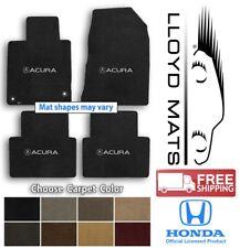 Acura Vehicles 4pc Ultimats Carpet Floor Mat Set - Choose Color & Logo