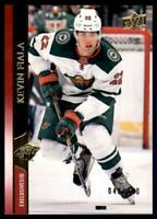 2020-21 UD Series 1 Exclusives #89 Kevin Fiala /100 - Minnesota Wild