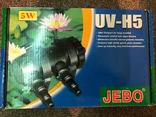 Jebo Uv-5e Pond Steriliser - Control Algae Blooms - With 6 Spare Bulbs