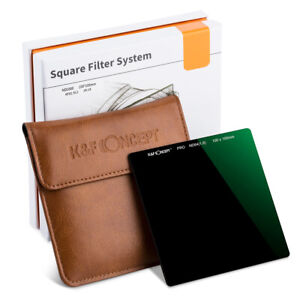 K&F Concept 100mm ND64 Square Filter Ultra Slim HD Neutral Density Optical Glass