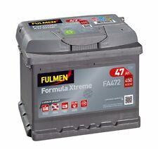 Batterie démarrage voiture Fulmen FA472 12v 47AH 450A 207X175X175mm idem B18