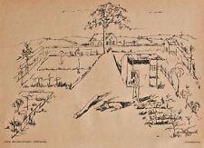 Jakob (Jack) Friedrich Bollschweiler - Gärtnerei - Lithographie - 1917