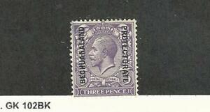 Bechuanaland, Postage Stamp, #101 Mint Hinged (Tiny Thin), 1926