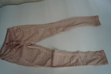 TOM TAILOR Damen sommer Jeans Hose slim fitt stretch Gr.34 L32 dünn pink TOP =2