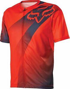 Fox Racing Livewire Descent s/s Jersey Flo Orange