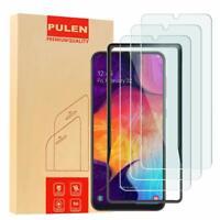 3 Protector de Pantalla de Cristal Trasparente Tempered Para Samsung Galaxy A50