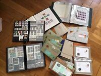 Mega Lichtenstein Lot Briefmarken, Blöcke, Bögen gestempelt&postfrisch, Abo
