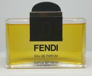 FENDI CLASSIC WOMEN 100ML EAU DE PARFUM EDP SPLASH Used No Box Original Perfume