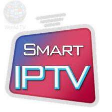 SMART IPTV 12 MOIS ABONNEMENT, M3U, KODI, VLC, IOS,ANDROID.VOD, BOX, MAG!