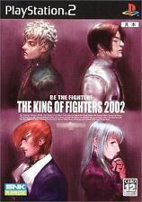Used PS2 SNK The King of Fighters 2002 KOF  SONY PLAYSTATION 2 JAPAN IMPORT