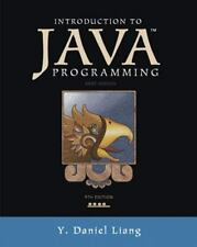 Introduction to Java Programming, Brief Version (9th Edition), Liang, Y. Daniel,