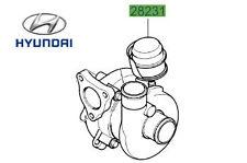 Genuine Hyundai i30 Estate Turbocharger - 282012A400