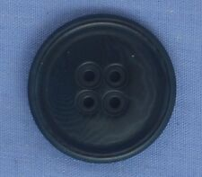 25mm Navy 4 Hole Button
