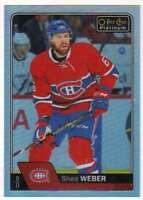 2016-17 O-Pee-Chee Platinum Rainbow Parallel #90 Shea Weber Canadiens