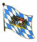 Flaggen Pin Fahne Freistaat Bayern Lowen Anstecknadel Flagge