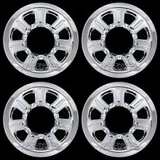 "4 2001-2010 Mazda Truck 15"" Chrome Wheel Skins Hub Caps Full Covers 7 Spoke Rims"