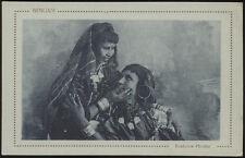cartolina militare BENGASI costume arabo