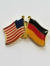 Usa Flag American Flag Germany Flag Crossed Flag Lapel Hat Pin Tie Tac Fast Ship