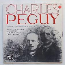CHARLES PEGUY par MADELEINE RENAUD ALAIN CUNY CLAUDE NOLLIER VANECK 10033