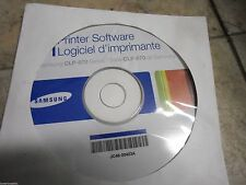 New ! Genuine Samsung CLP 670 Series Printer CD Software Drivers JC46-00453A
