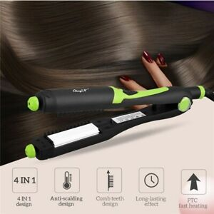 4 in 1 Hair Curler Crimper Waver Hair Straightener Curling Wand