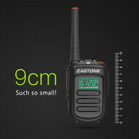 Zastone Mini9  Portable  Walkie Talkie UHF 400-470MHz Two Way Amateur Ham Radio