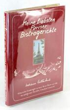 Marianne Kaltenbach Signed 1984 Meine Liebsten Pariser Bistrogerichte HC w/DJ